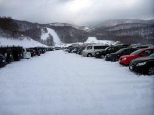 グランデコ 積雪